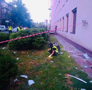 """警方:""""112乌克兰""""电视台大楼受到榴弹发射器攻击"""