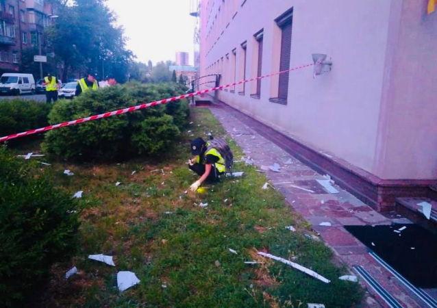警方:「112烏克蘭」電視台大樓受到榴彈發射器攻擊