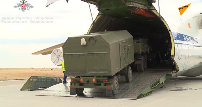 俄向土耳其運交S-400導彈