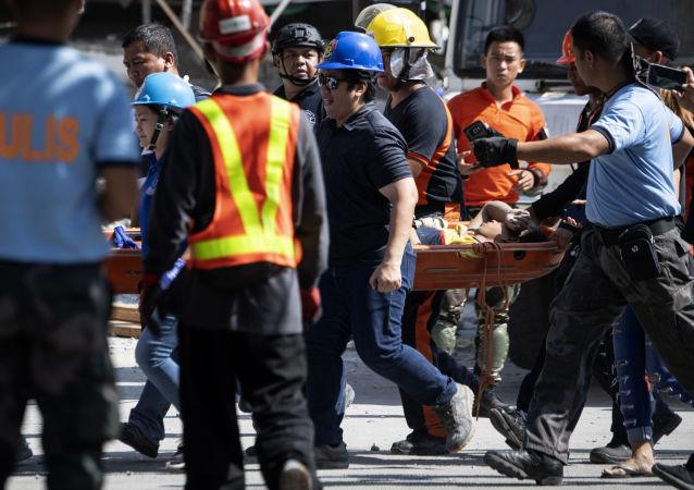 菲律宾, 地震