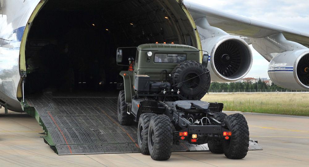 俄國防部證實14日向土耳其供應S-400部件
