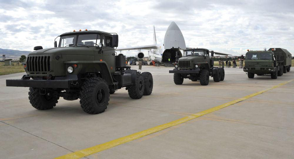 土耳其國防部:第七架裝有俄S-400系統組件的飛機抵達安卡拉