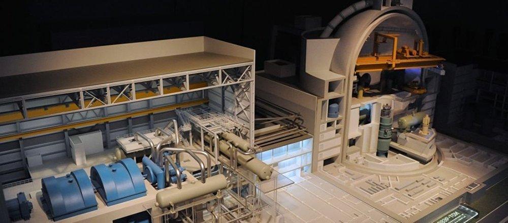 VVER-TOI核電站模型