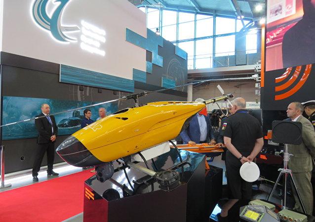 「雷達MMS」公司的直升機型無人機