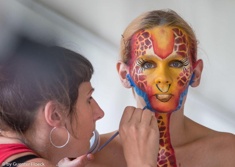奥地利世界人体彩绘节