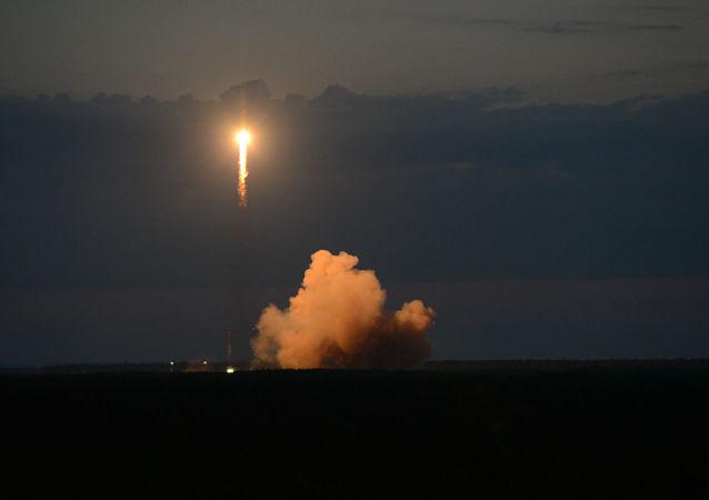 Запуск навигационного спутника Глонасс-М с космодрома Плесецк