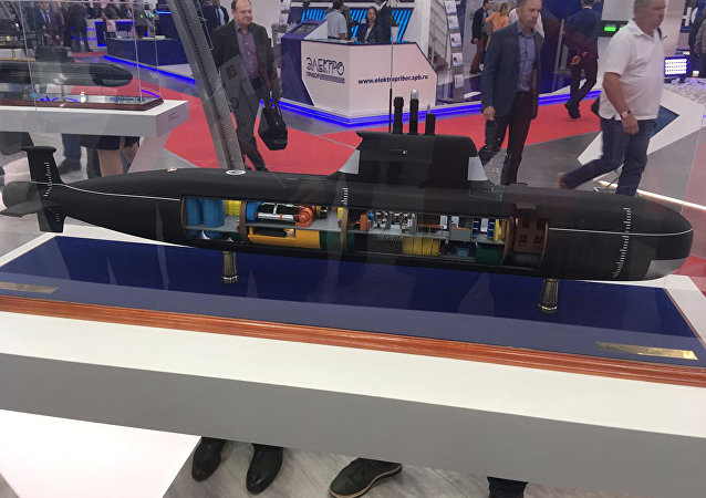 """最新型小型潜艇""""比拉鱼""""将装备""""口径""""导弹"""