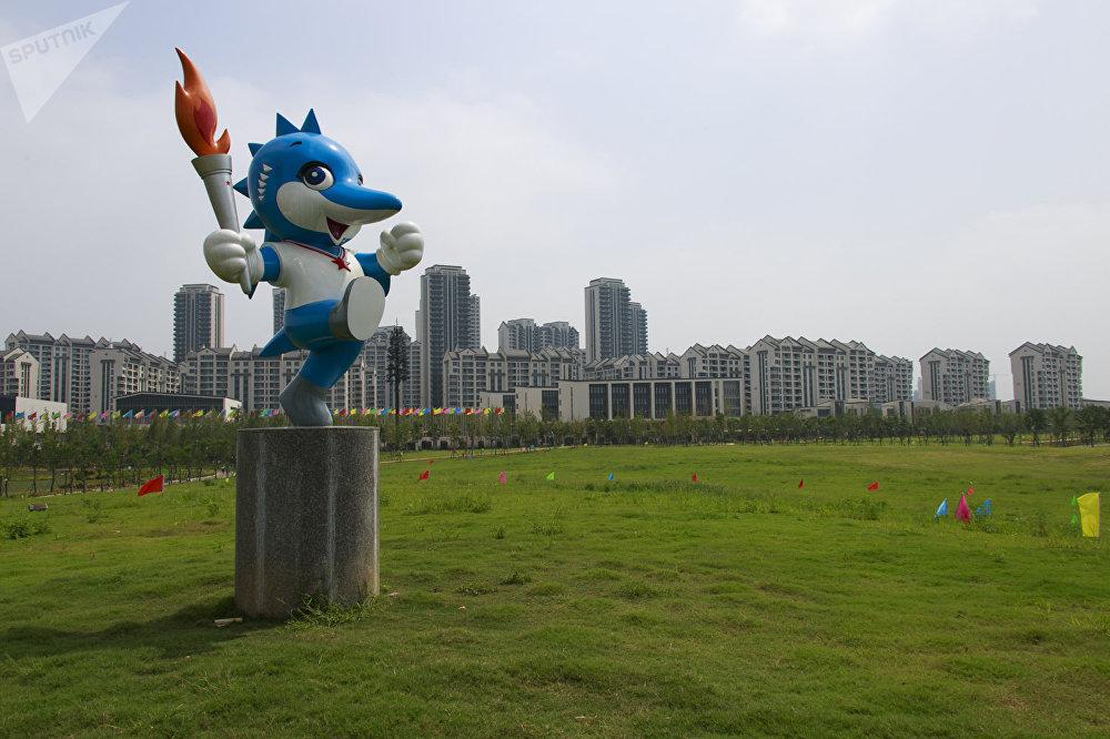 战争游戏的吉祥物2019中国鲟鱼