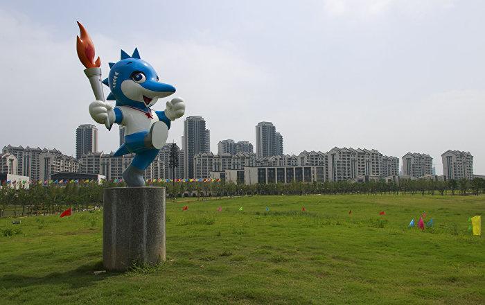 2019第七屆世界軍人運動會吉祥物:中華鱘