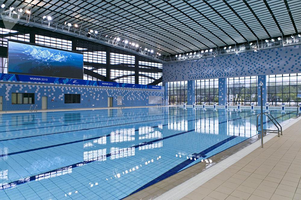 符合国际标准湖北省A级游泳池
