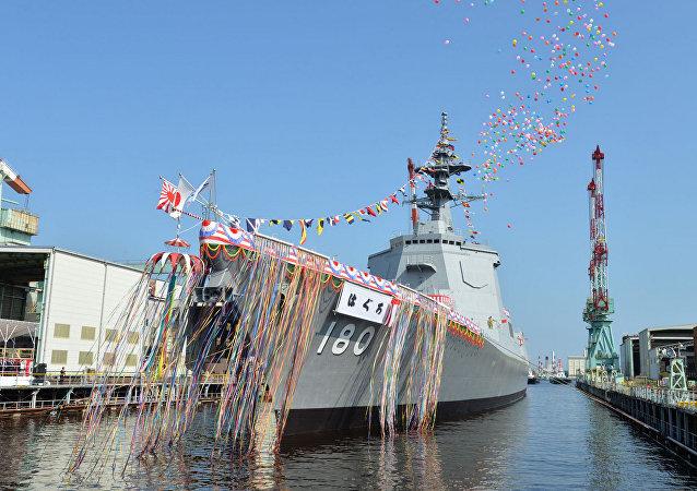 """日本海上自卫队打造的""""羽黒""""号驱逐舰"""