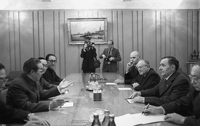 葛羅米柯見證中蘇建交  中方對其表示緬懷