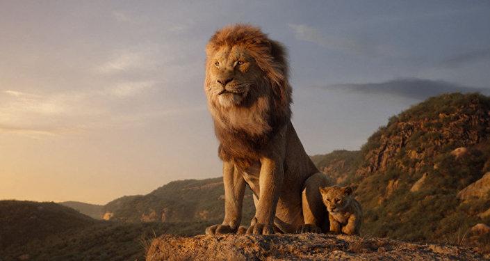 在滨海边疆区发现了动画电影《狮子王》中的山岩