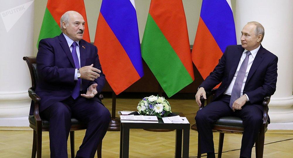 普京稱白俄是俄羅斯最親密的盟友和戰略夥伴
