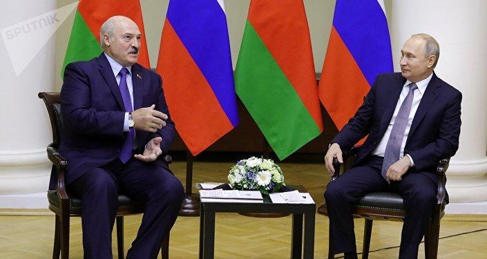 普京称白俄是俄罗斯最亲密的盟友和战略伙伴