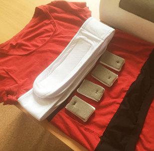 俄研究人员在运动员体恤衫内放置心电图传感器