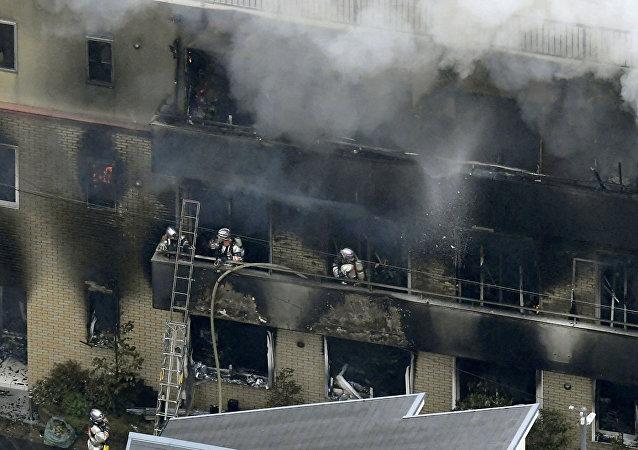 日本京都纵火案嫌犯称其小说被抄袭