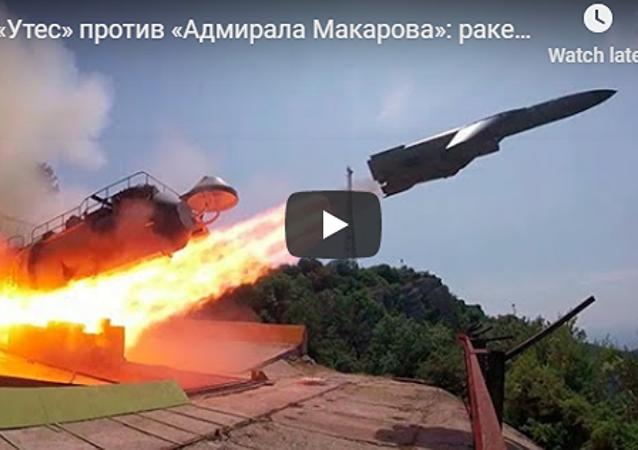 俄發佈黑海導彈射擊演練視頻
