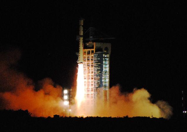 中国量子卫星发射