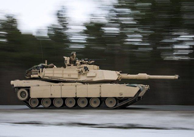 M1艾布拉姆斯坦克(資料圖片)