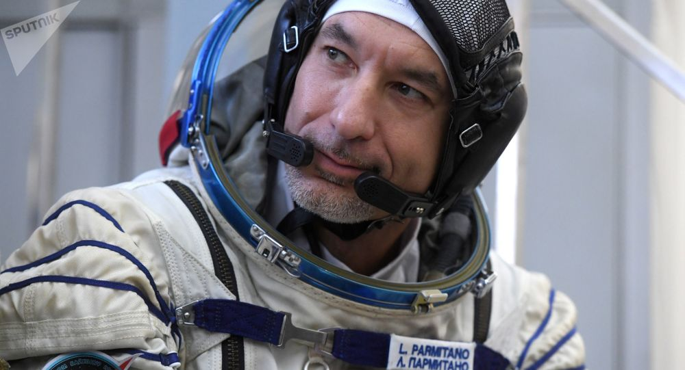 意大利宇航員盧卡·帕爾米塔諾