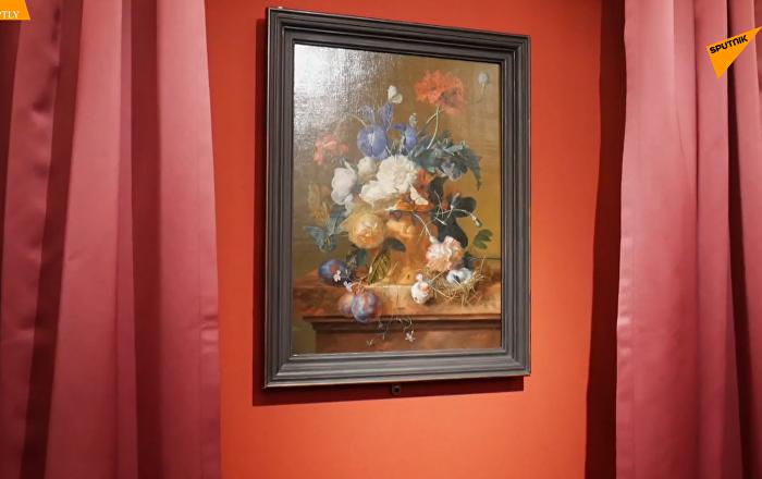 海瑟姆油畫作品《花瓶和花》回歸意大利