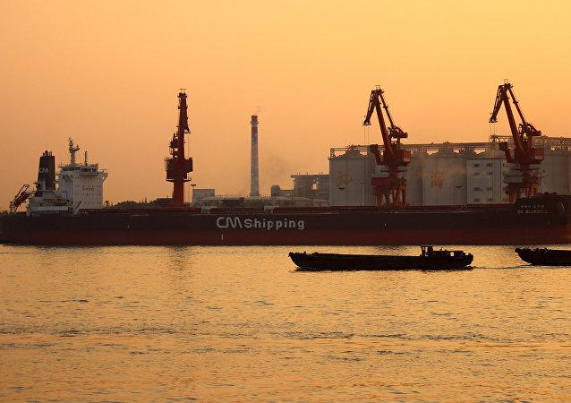韓國CK Bluebell號貨船