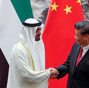 """中国利用阿联酋地缘政治角色推动""""一带一路""""建设"""