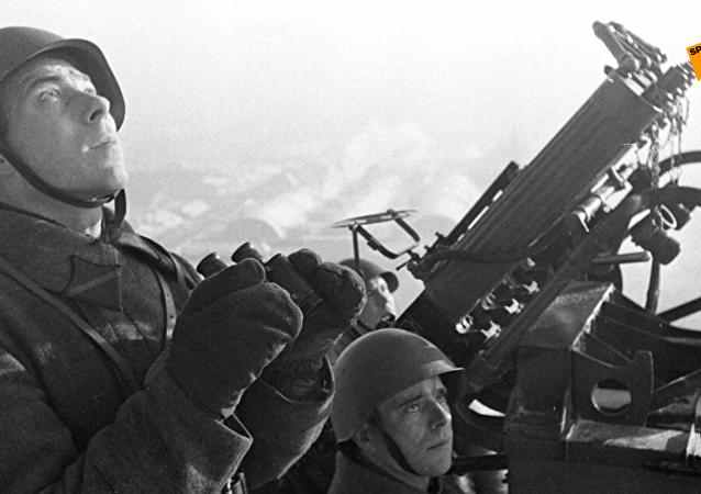 莫斯科防空战