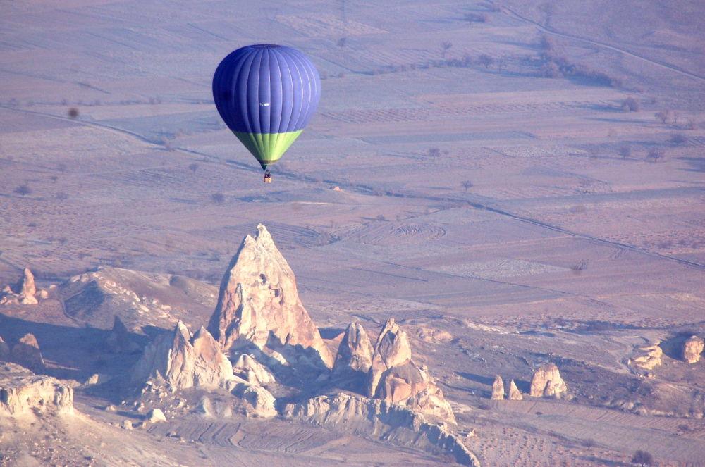 卡帕多西亞上空的氣球,土耳其