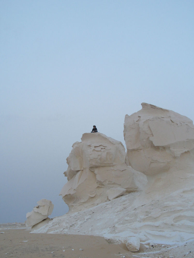 埃及白沙漠