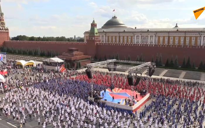 莫斯科4273人大規模拳擊訓練欲打破世界紀錄