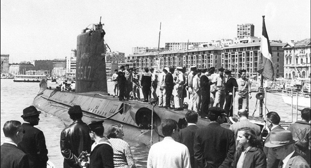 一艘失踪半个世纪的法国潜艇现身