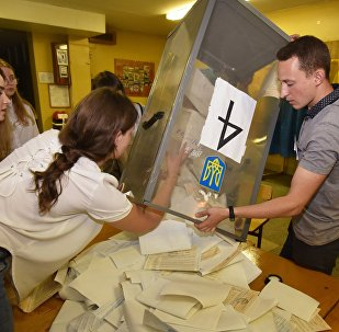 乌议会选举计票70%泽连斯基领导的人民公仆党得票率42%
