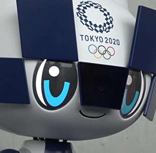 迎接东京奥运会倒计时一周年 日本推出新型机器人