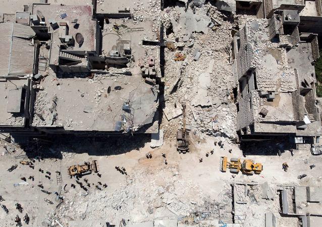 联合国:叙利亚冲突十天内造成450多名平民丧生