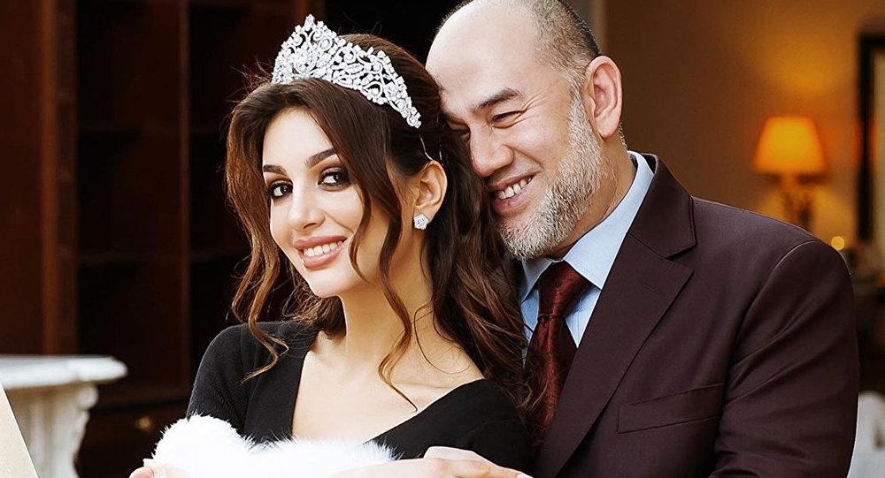 馬來西亞前國王的俄羅斯妻子準備做親子鑒定
