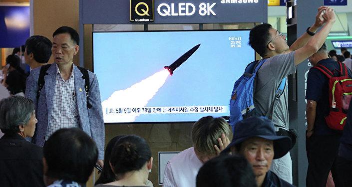 军事专家评论朝鲜发射导弹