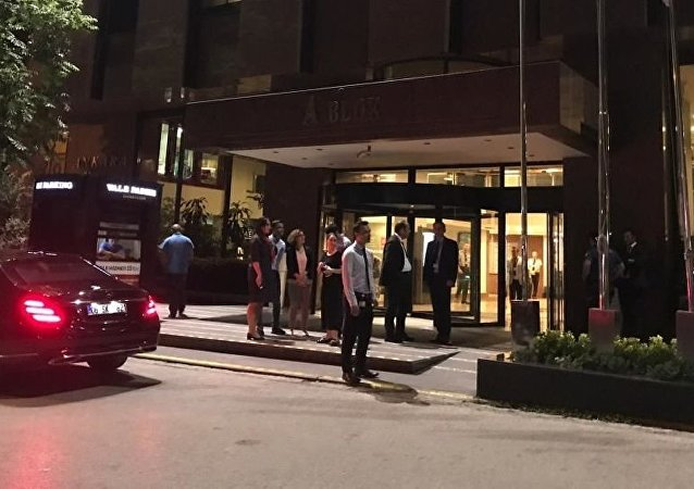 Photo from the hospital where shot Belarusian diplomat was delivered