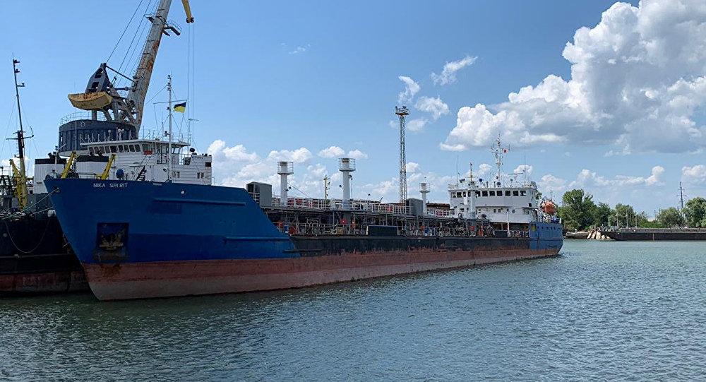 """NIKA SPIRIT""号船东:在乌克兰港口被截留的油轮去冬刚刚购得"