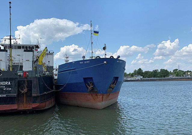 俄外交官:俄方將爭取烏克蘭釋放日前被扣油輪
