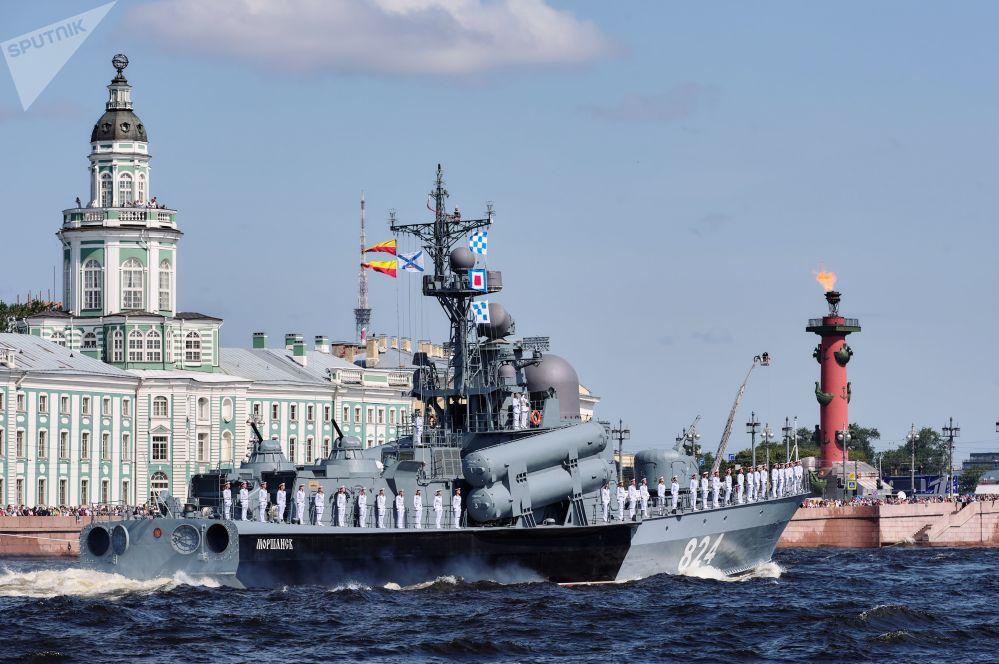"""12411 型""""莫尔尚斯克""""号大型导弹艇"""
