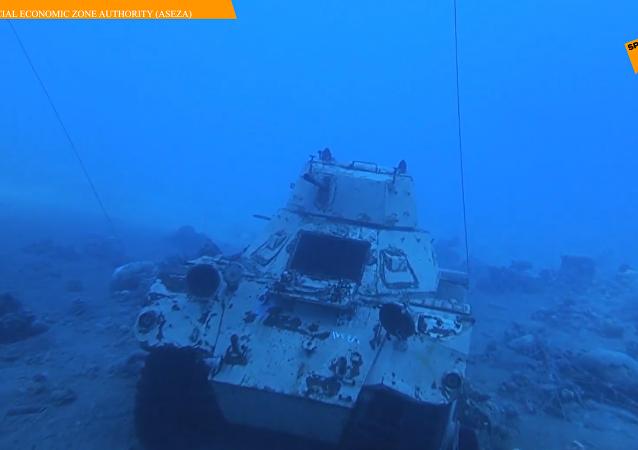 約旦建水下軍事博物館