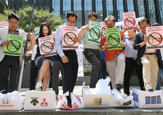 日本近6成居民支持政府限制對韓國出口