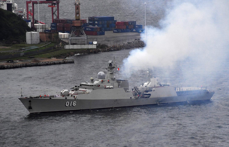 """越南的""""光忠""""号导弹护卫舰"""