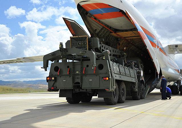 土耳其购买俄制S-400防空导弹系统