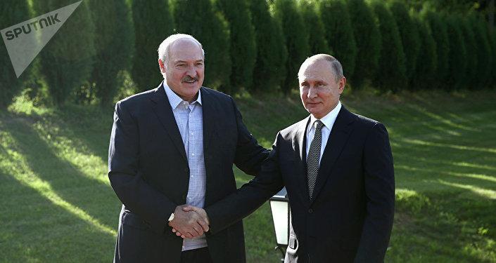 普京和卢卡申科