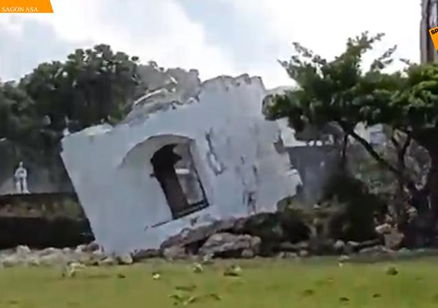 菲律賓北部連發強震  8人遇難60人受傷