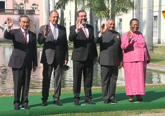 金磚國家外長在里約舉行會晤