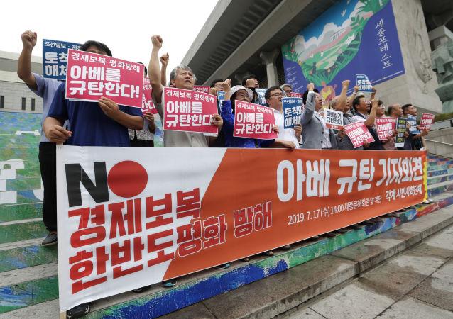 報告:日韓貿易摩擦可令中國從中受益